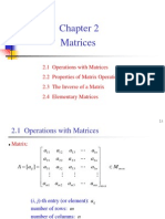 Lecture2, Matrices