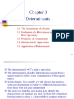 Lecture3,Determinants