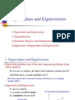 Lecture8, Eigenvalues and Eigenvectors