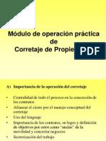 Operacion de Corretaje - Marcelo Garreton