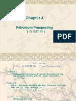 Chapter 3 Petroleum Prospecting