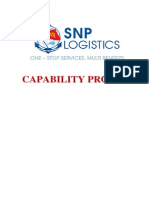 Saigon Newport Logistics Profile