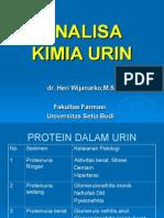 Analisa Kimia Urin