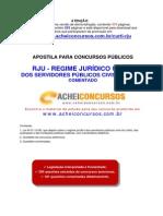 APOSTILA DE REGIME JURÍDICO