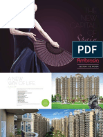 Ajnara Group Review Ambrosia Brochure