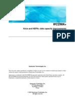 Wcdma + capacity