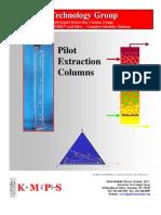 Pilot Extraction Column Flyer