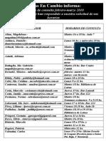 Horarios Consulta febrero-marzo 2010