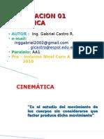 Presentacion Cinematic A 01( Ing. G. Castro R.)
