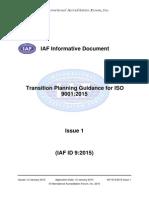 i a Fid 9 Transition 9001 Publication Version