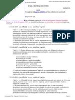 Legea 10 Modificata -Iunie 2015