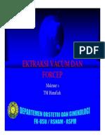Ektraksi Vacum Dan