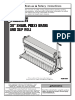 Shear Brake Roll Manual