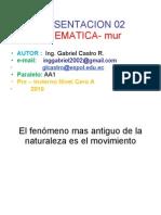 MUR( Ing. Gabriel Castro R.)