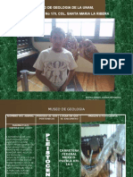 Museo de Geologia- Pedro Ismael Gohan Mendiola Leon