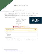 PROFMAT 2015 - Questões Resolvidas - Wolframalpha