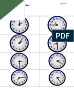 German worksheet - Telling time