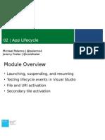 02 - App Lifecycle