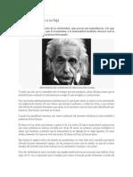 Carta de Einstein a Su Hija