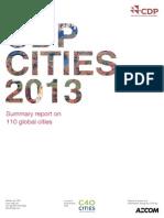 10 CDP 20Cities 202013 Summary 20report Wealthier 20Healthier 20Cities