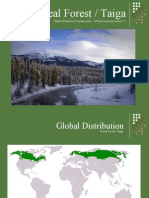 Boreal Forest/ Taiga Biome PowerPoint