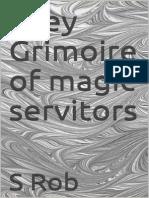 Grey Grimoire of Servitors
