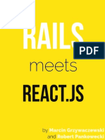 Rails Meets React Sample