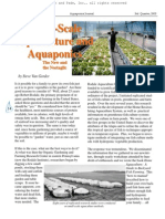 Small Scale Aquaculture and Aquaponics