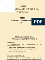 3. Analisi Combinatorio 2014