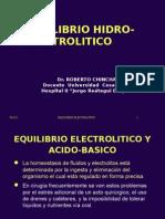 Hidratacion y Electrolitos en Cirugia Ok