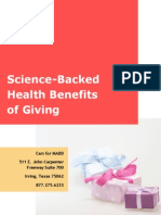 Science-Backed Health Benefits of Giving