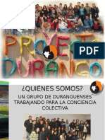 PROYECTO DURANGO A.C 2015