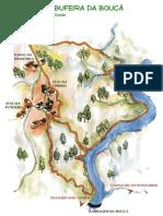 Mapa Albufeira Bouça