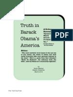 Truth in Barack Obama's America