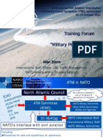 NATO is PBN Training Brief to ICAO PBN Symposium