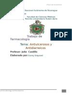 Antiulcerosos y Antidiarreicos Complet