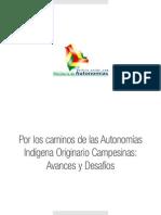 Min Autonomías-Por Los Caminos de La AIOC Avances y Desafios
