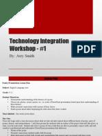 tech-integration plan 1-2