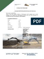 Cotizacion Maquinarias Para Municipalidad de Tayacaja