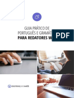 Guia Prático de Português e Gramática Para Redatores Web