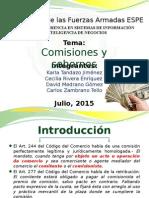 Comisiones y Sobornos