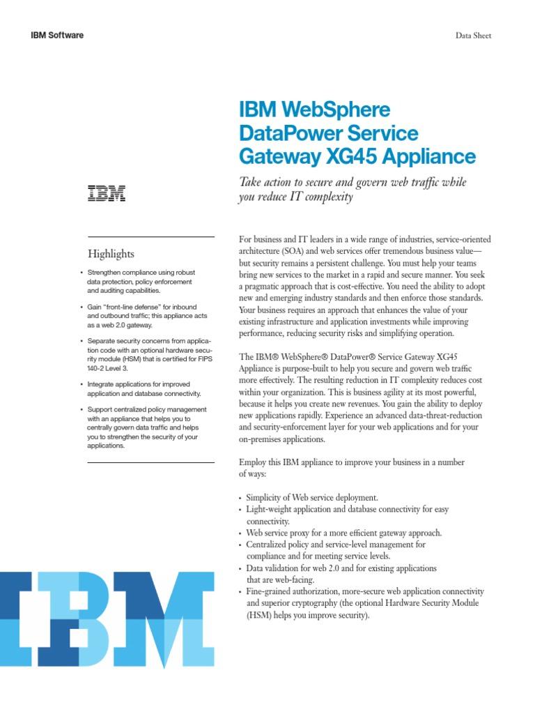 Datapower XI52 | Service Oriented Architecture | Json