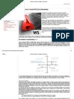 Introduccion a AutoCAD (Coordenadas) - Dibujo Técnico