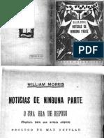 Noticias de Ninguna Parte. William Morris. Novela.