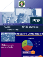 Modelo PPT Análisis Rendimiento Primer Semestre 2015