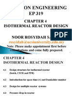 Chap 4 Isothermal Reactor Design (Student)