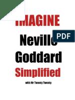Imagine Neville Goddard Simplified