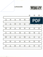 Plantillas de Correccion WISC IV