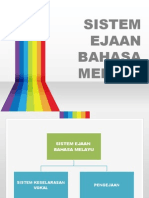 Sistem Ejaan Bahasa Melayu - Pengejaan dan Tanda Baca