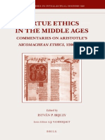 [István_Pieter_Bejczy] Virtue Ethics in the Middle Ages